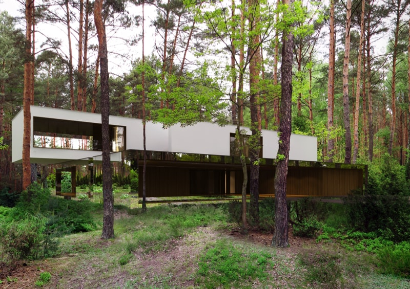 800x500 1 min - Mirror House Project, Poland by REFORM Architekt