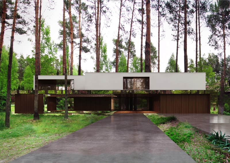 800x500 2 min - Mirror House Project, Poland by REFORM Architekt