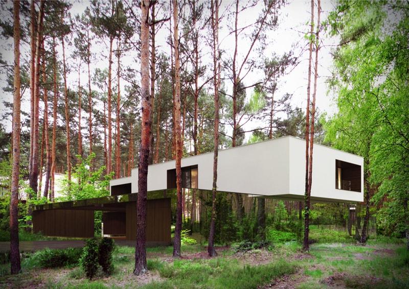 800x500 3 min - Mirror House Project, Poland by REFORM Architekt