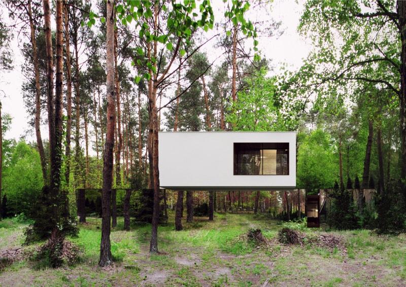 800x500 4 min - Mirror House Project, Poland by REFORM Architekt