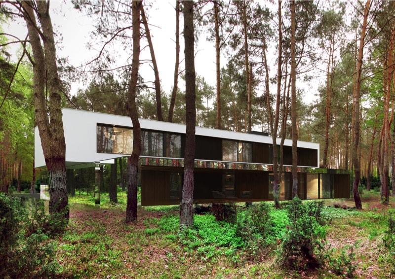 800x500 5 min - Mirror House Project, Poland by REFORM Architekt
