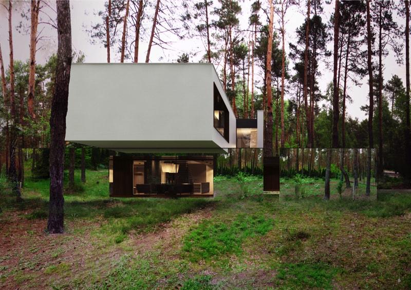 800x500 7 min - Mirror House Project, Poland by REFORM Architekt