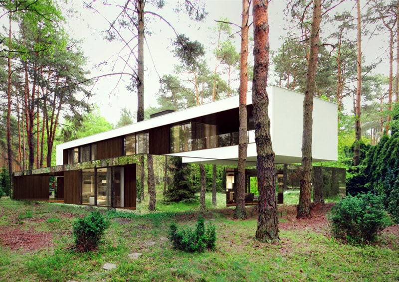 800x500 8 min - Mirror House Project, Poland by REFORM Architekt