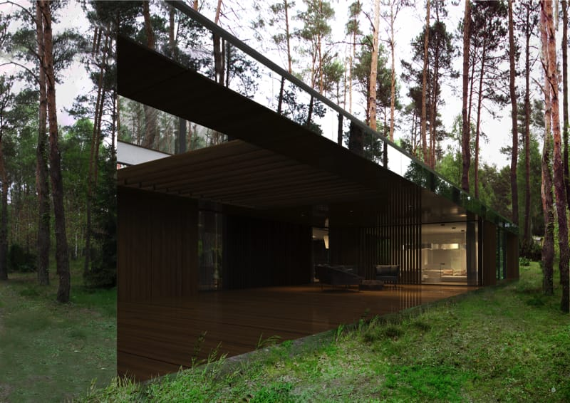 800x500 9 min - Mirror House Project, Poland by REFORM Architekt