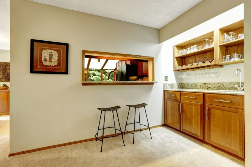 Home Bar Pictures and Home Wine Storage
