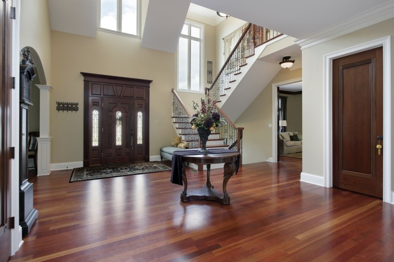 Foyer Hardwood Floors : Foyer interior design and house entryway ideas