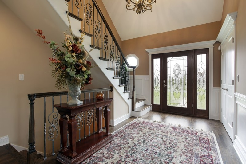 Interior Foyer Doors : Foyer interior design and house entryway ideas inspired