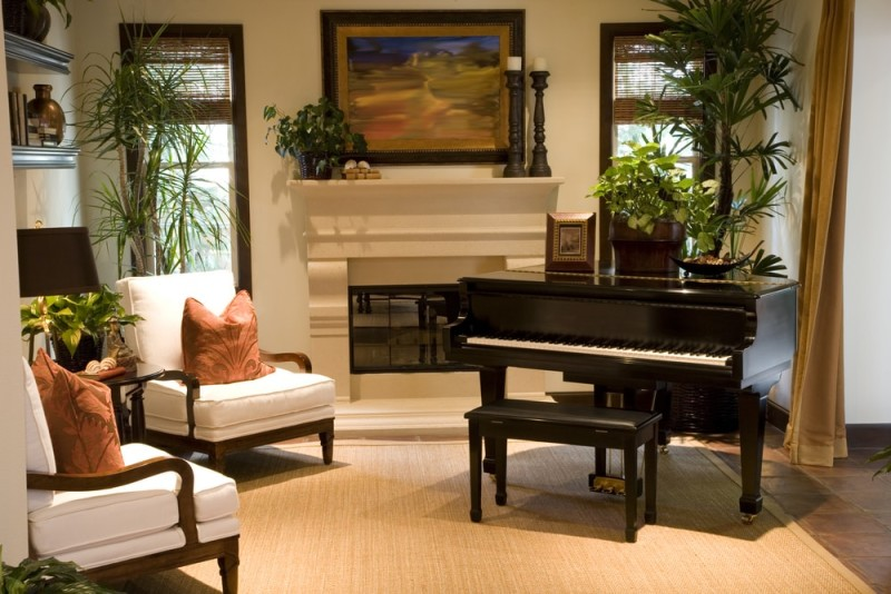 music practice rooms and home music studio ideas. Black Bedroom Furniture Sets. Home Design Ideas