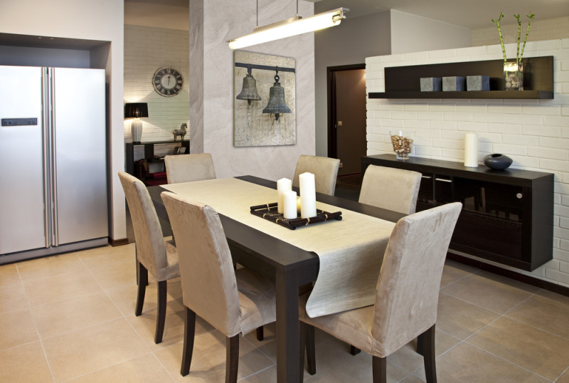 Interior Shot Of A Modern Dining Room E1445849825857   Modern Dining Room  Design And Elegant Dining