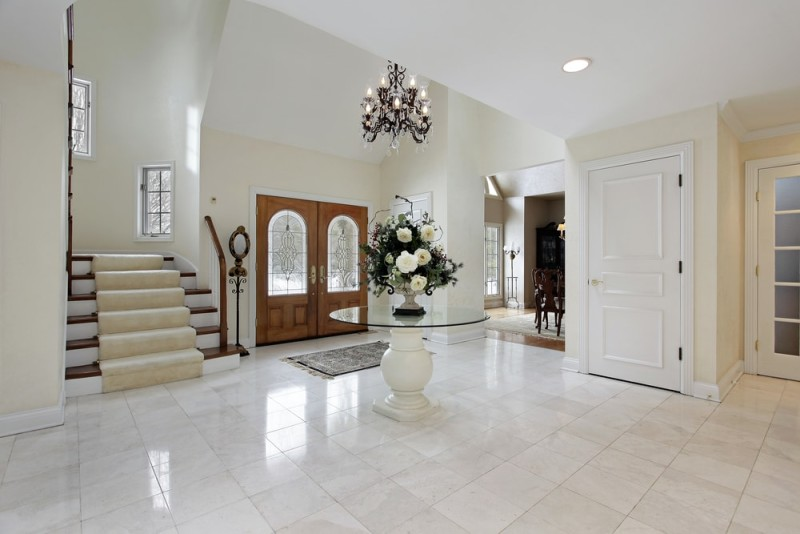 Large Foyer Window : Foyer interior design and house entryway ideas