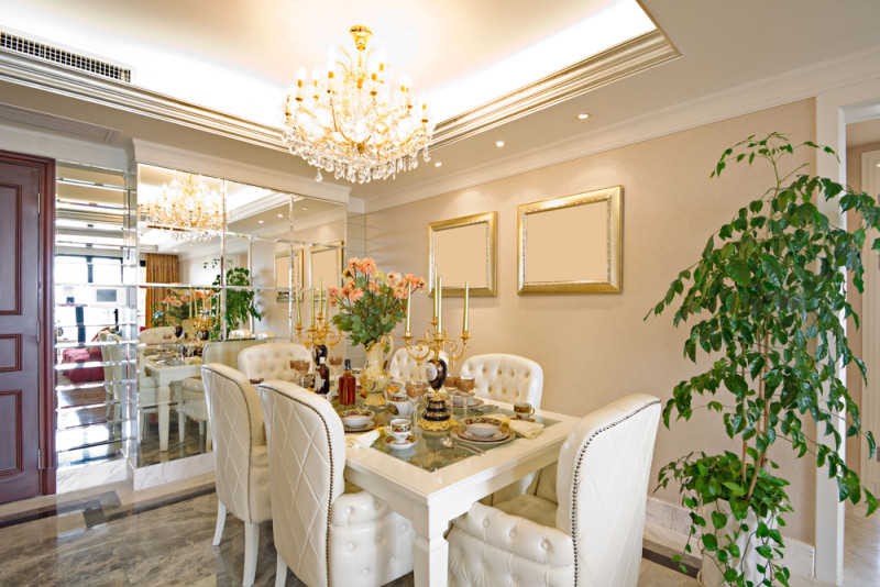 Luxury House With Regal Elegant Dining Room 2