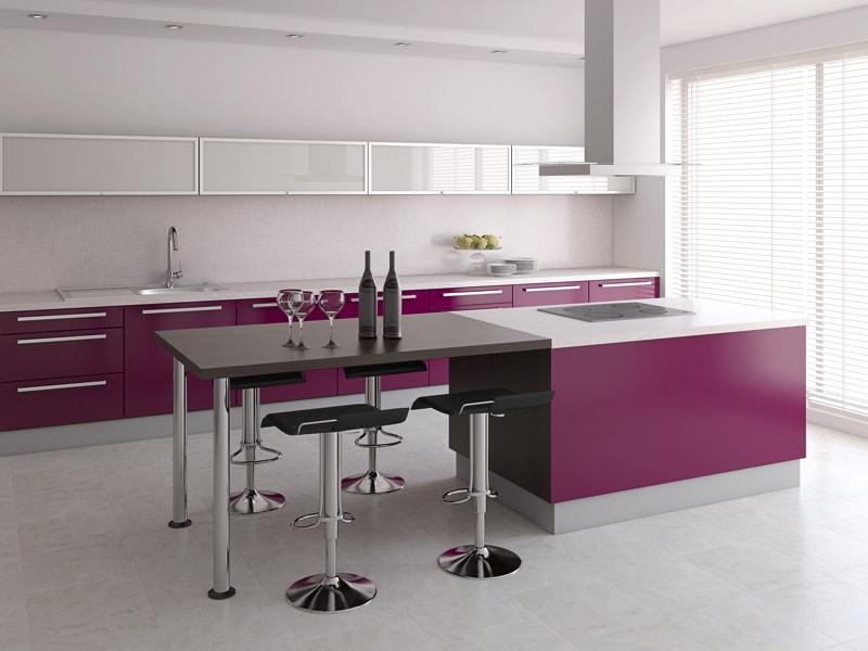 145 amazing luxury kitchen design ideas part 3 - Violet Kitchen 2015