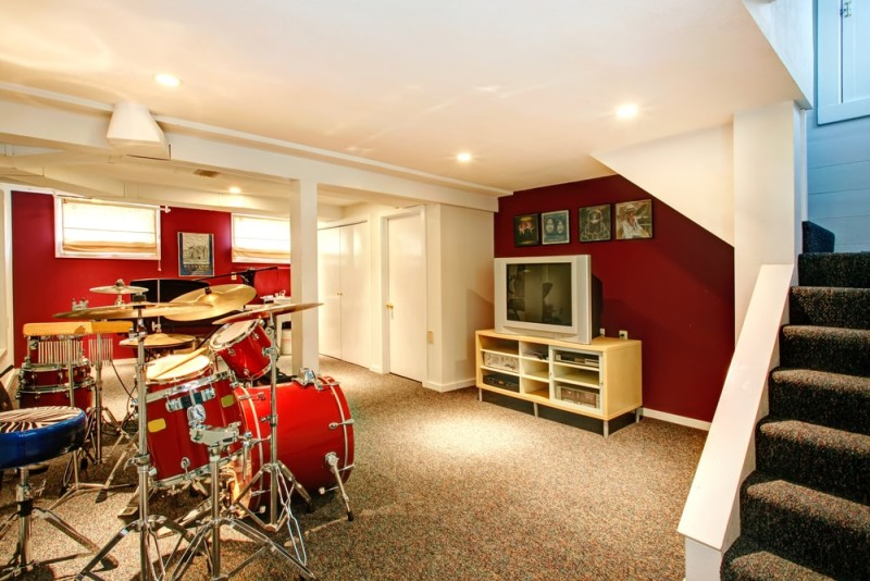 Band Practice Room In Garden