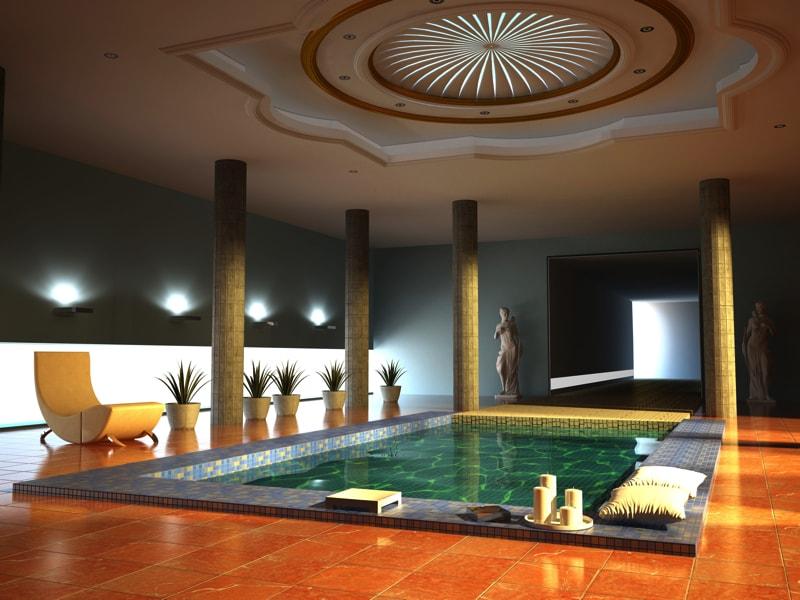 A Spa Interior 3076539 min - 27 Home Hot Tubs and Spa Pools