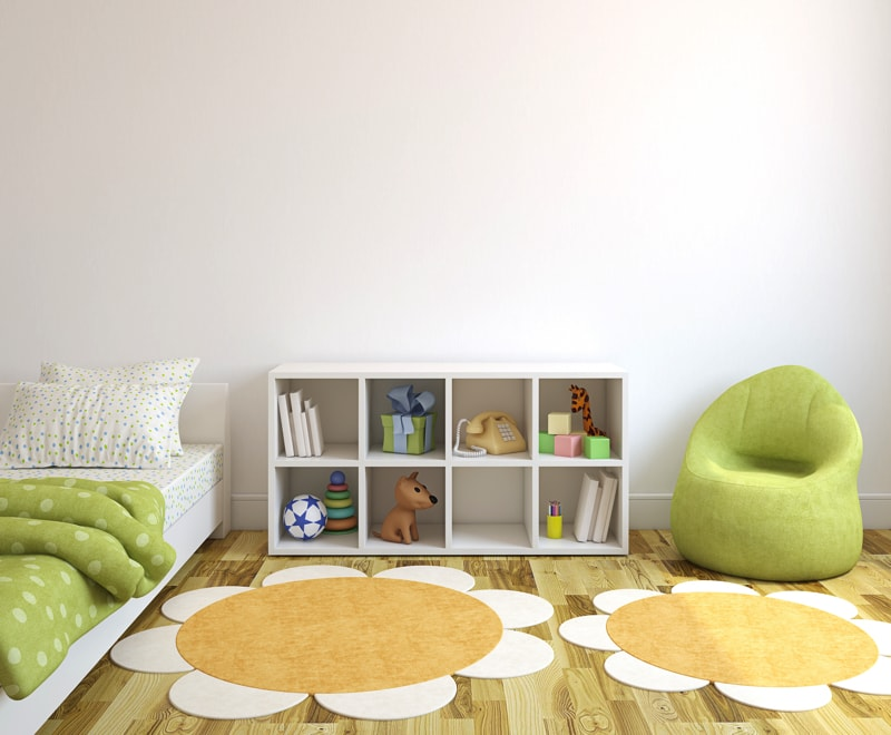 Interior Of Playroom 83325647 min - Decorating Ideas For Kids Bedrooms