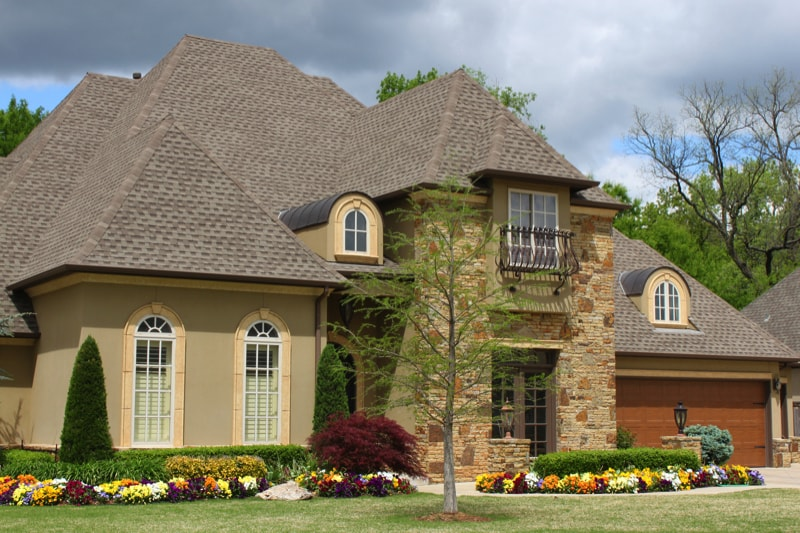 Nice brick house with pretty l 72005311 min - Exterior House Colors & Themes