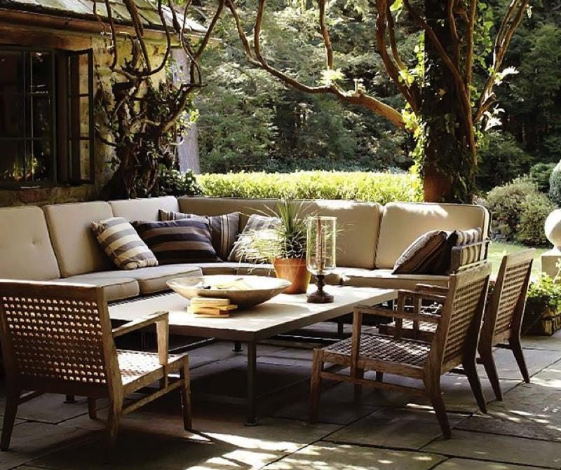 Outdoor designer patio furniture