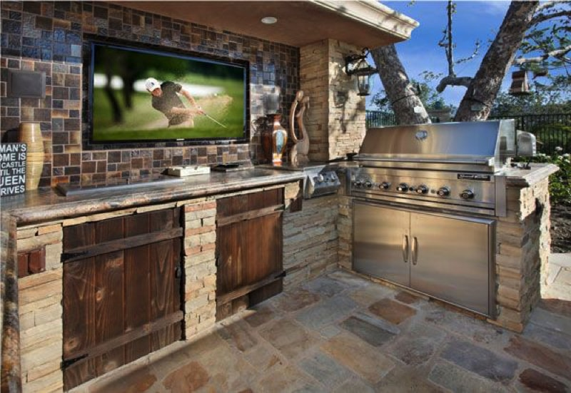 23 Outdoor Kitchen Ideas Bbq Grill Entertainment Area Designs