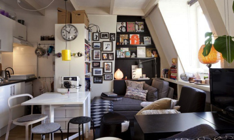 17 Ideas For Decorating Small Apartments Tiny Spaces