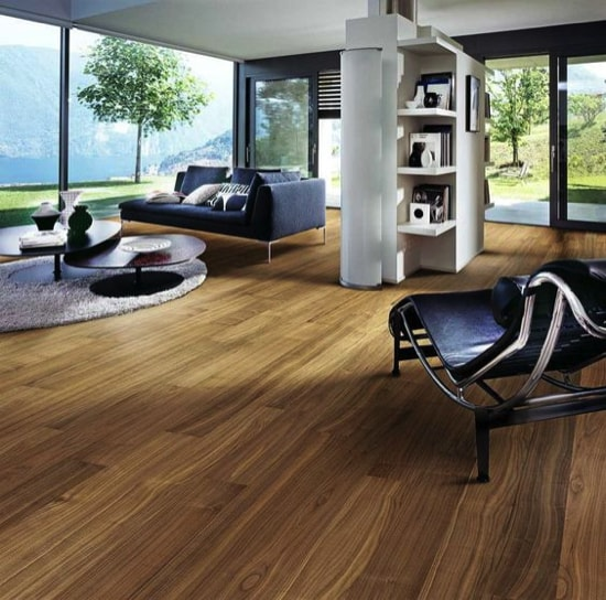 Bamboo floor Image from Homedit.com min - Choosing the Best Kitchen Flooring for Your New Kitchen