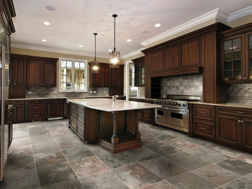 choosing the best kitchen flooring for your new kitchen