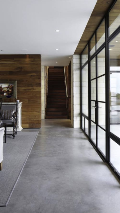 Concrete floor image from Homedit.com min - Choosing the Best Kitchen Flooring for Your New Kitchen
