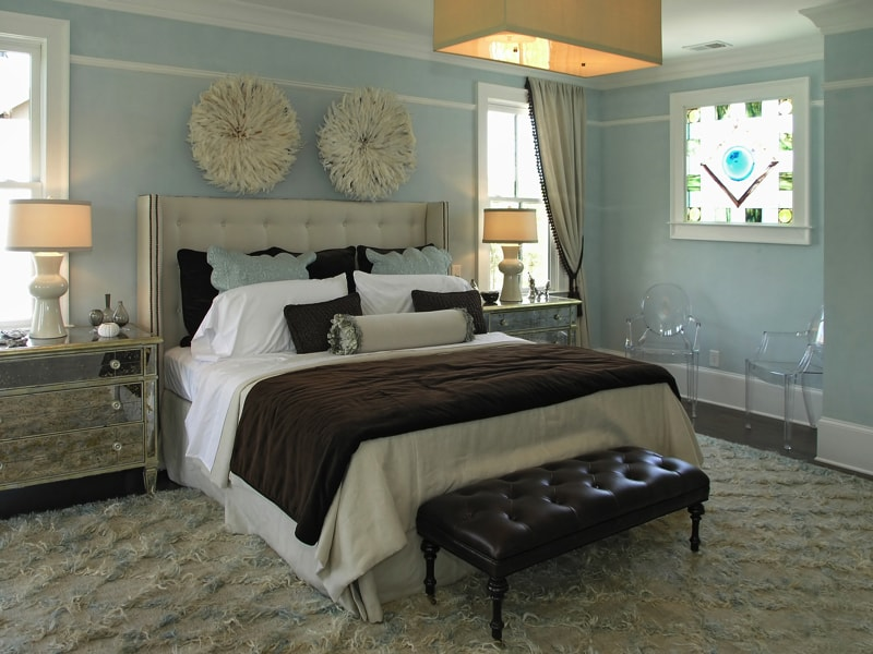 decorating master bedrooms with interior design style