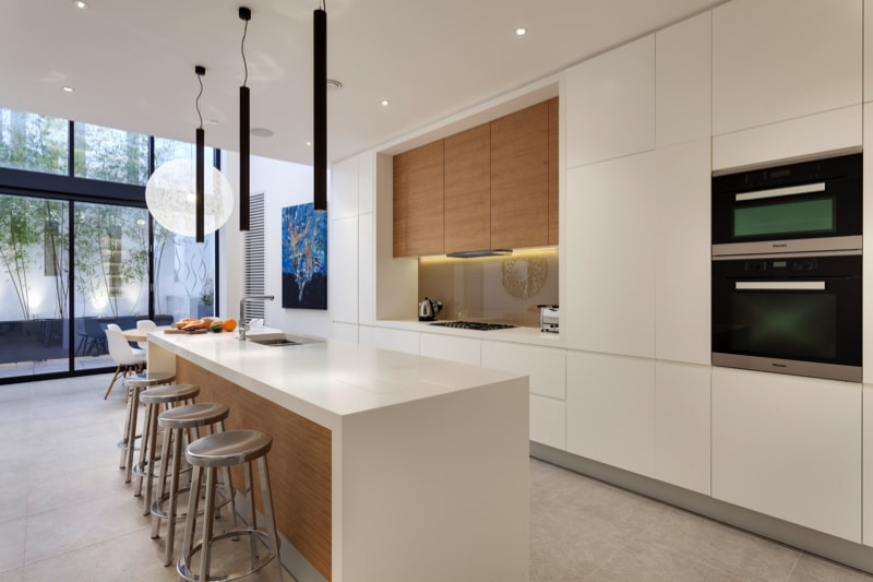 NarrowHouse interior kitchen min - Narrow House Makeover, Covent Garden, London UK by FORMstudio