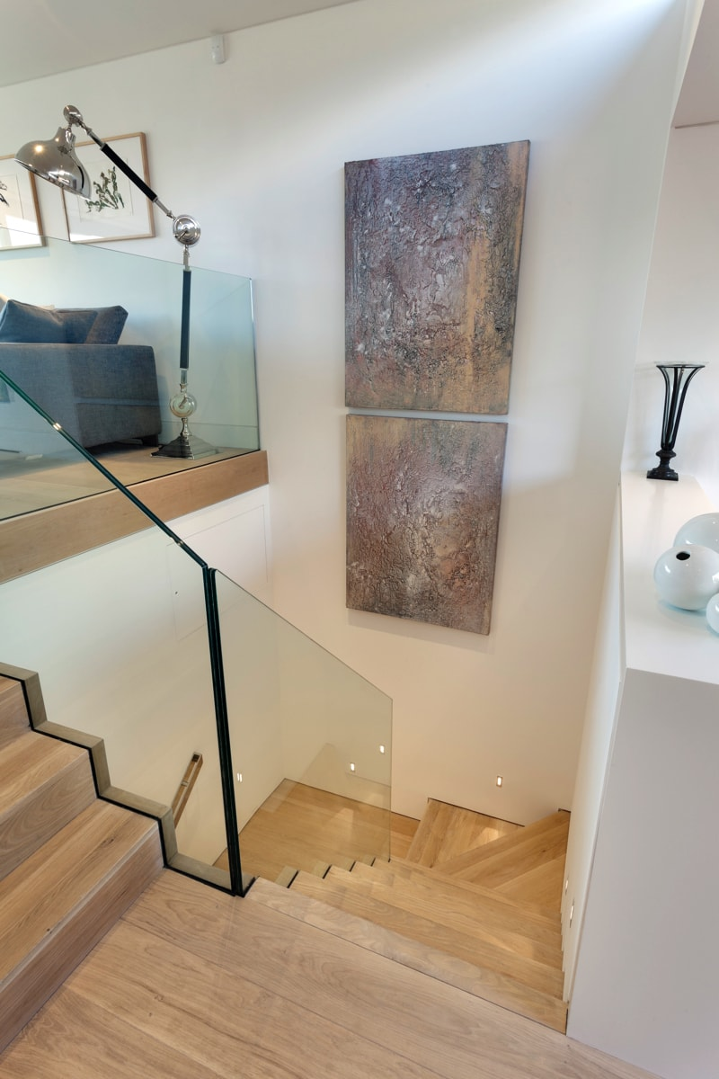 NarrowHouse staircase shot2 min - Narrow House Makeover, Covent Garden, London UK by FORMstudio