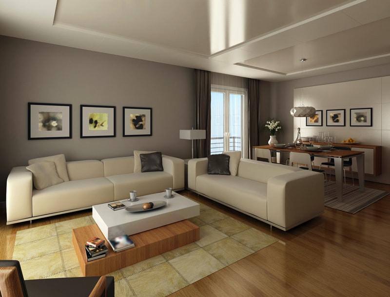 casual relaxed living rooms