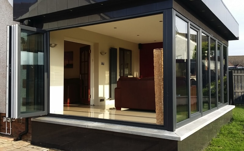 BIFOLD DOORS - What's Happened To Conservatories In 2016?