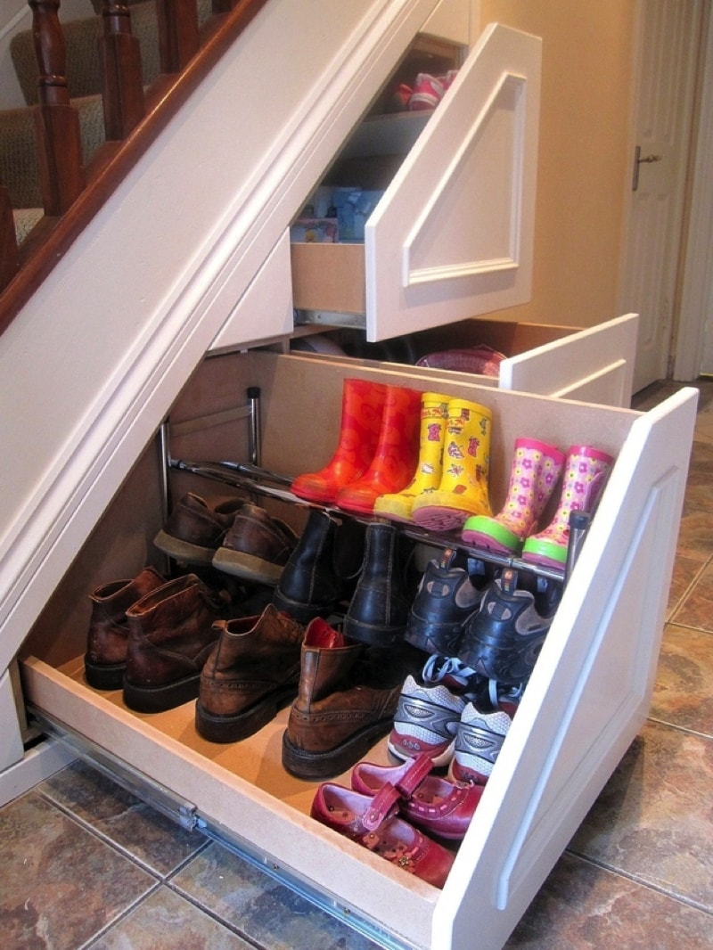 Clever Home Storage Ideas Making Practical Use of Wasted Space