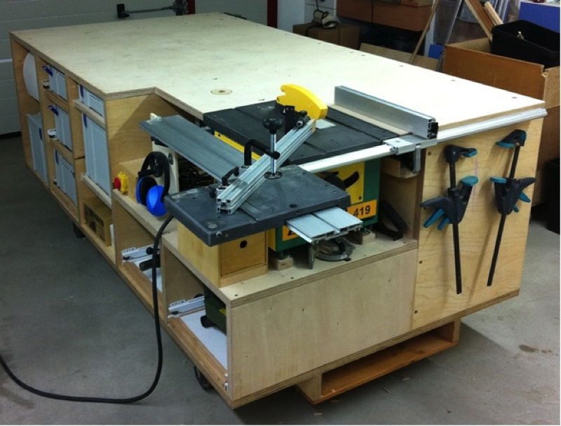 Build Multi Use Rolling Workbench