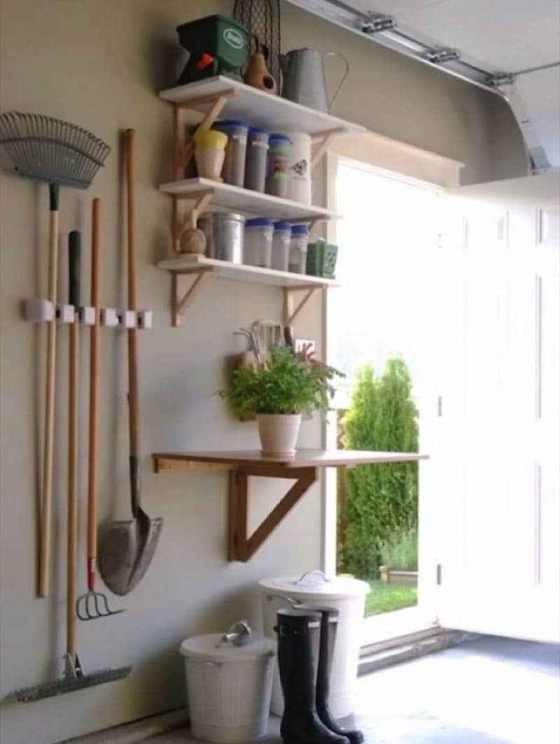 Build a Mini Garden Station - 10 Best Tips To Make Use Of Your Garage Space