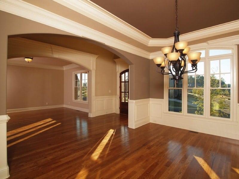 Laminate Flooring in entry