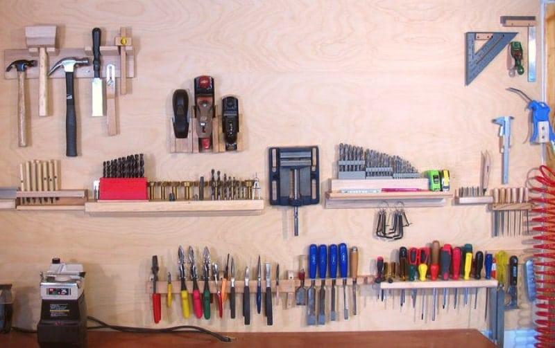 Use Wall Tool Holders