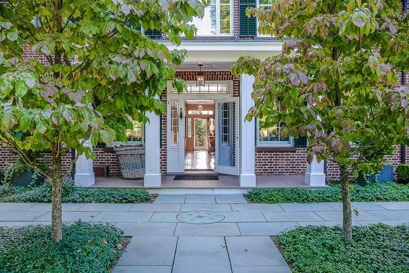 Photo 1 800 - Restoring the Historic Gideon Reynolds Brick House