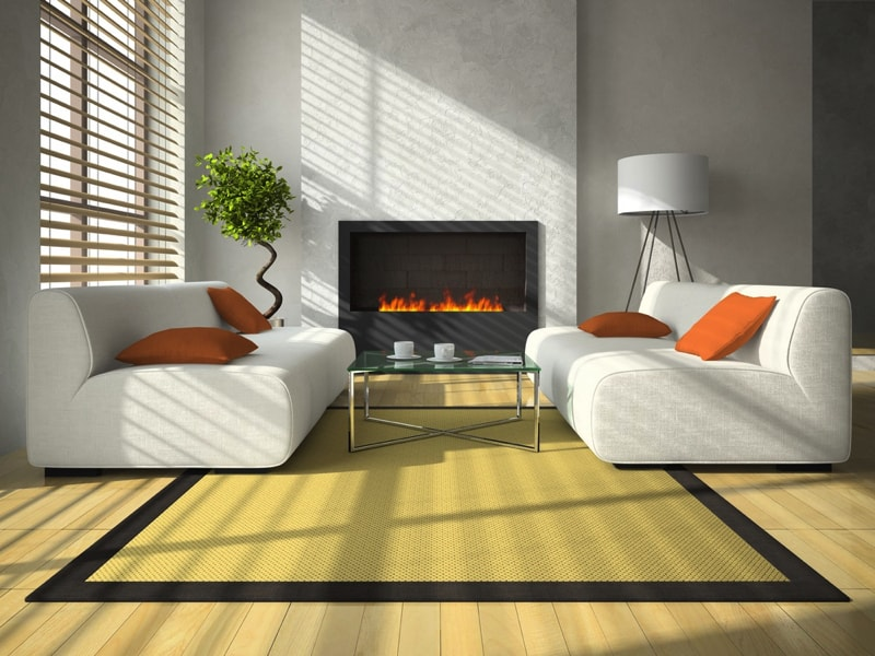 Features Of An Indoor Fireplace