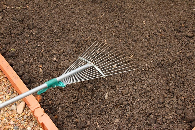 grade soil - How to Renovate an Ugly Old Lawn