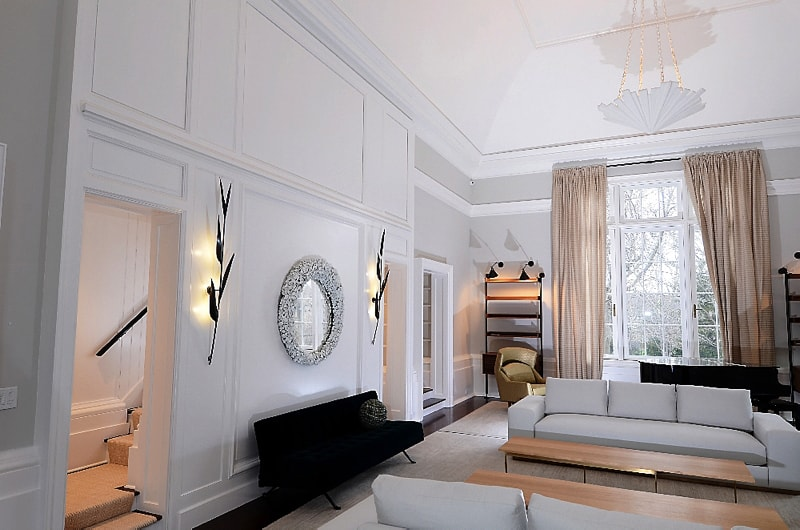 Living Room 2162a - Greenwich Fashion and Function in Home Remodeling Project