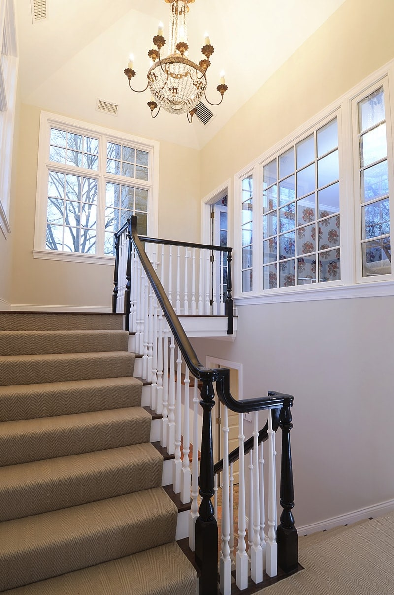Stairs 2370a - Greenwich Fashion and Function in Home Remodeling Project