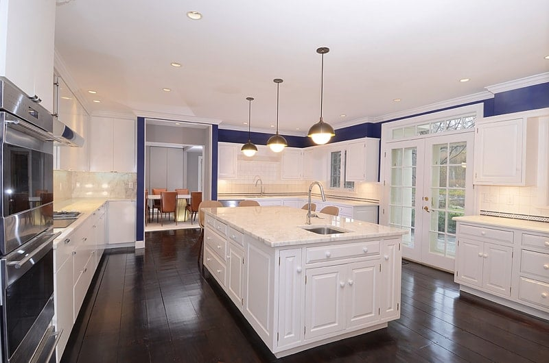 Wide Kitchen View 2245a - Greenwich Fashion and Function in Home Remodeling Project