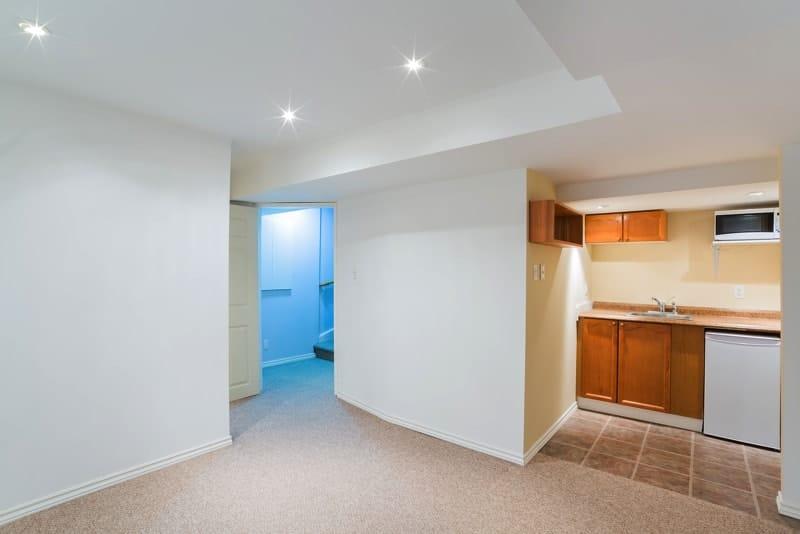 bigstock Interior Design Of Basement 86836934 - Home Basement Decorating Ideas