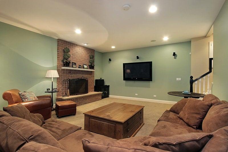 bigstock Lower Level Basement 5059040 - Home Basement Decorating Ideas
