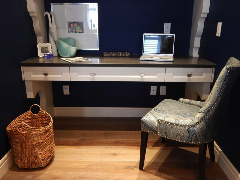 Home office - home interior decorating