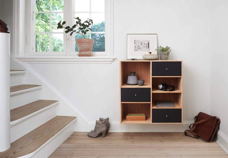 Open shelves -home interior decorating