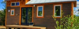 Nice Tiny House Design With Decking
