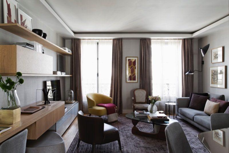 1 N0A1043 DxO min e1488654056533 - Paris Apartment by Diego Revollo Architect