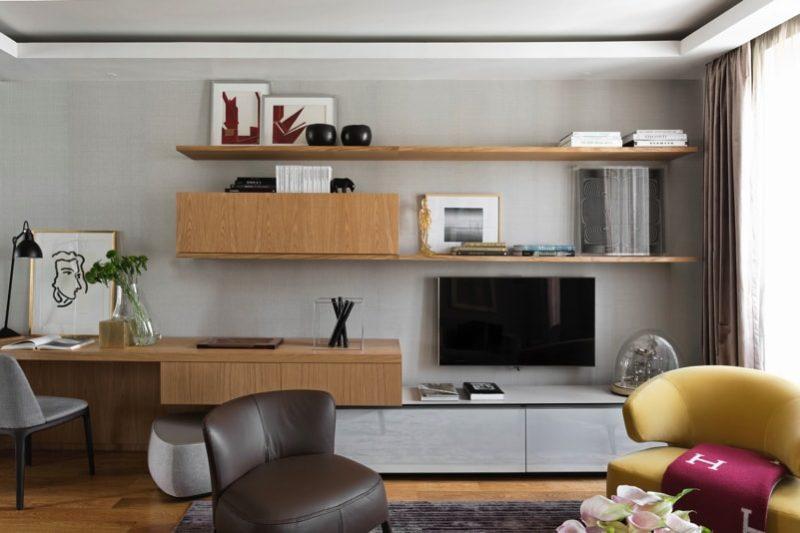 1 N0A1047 DxO min e1488654179154 - Paris Apartment by Diego Revollo Architect