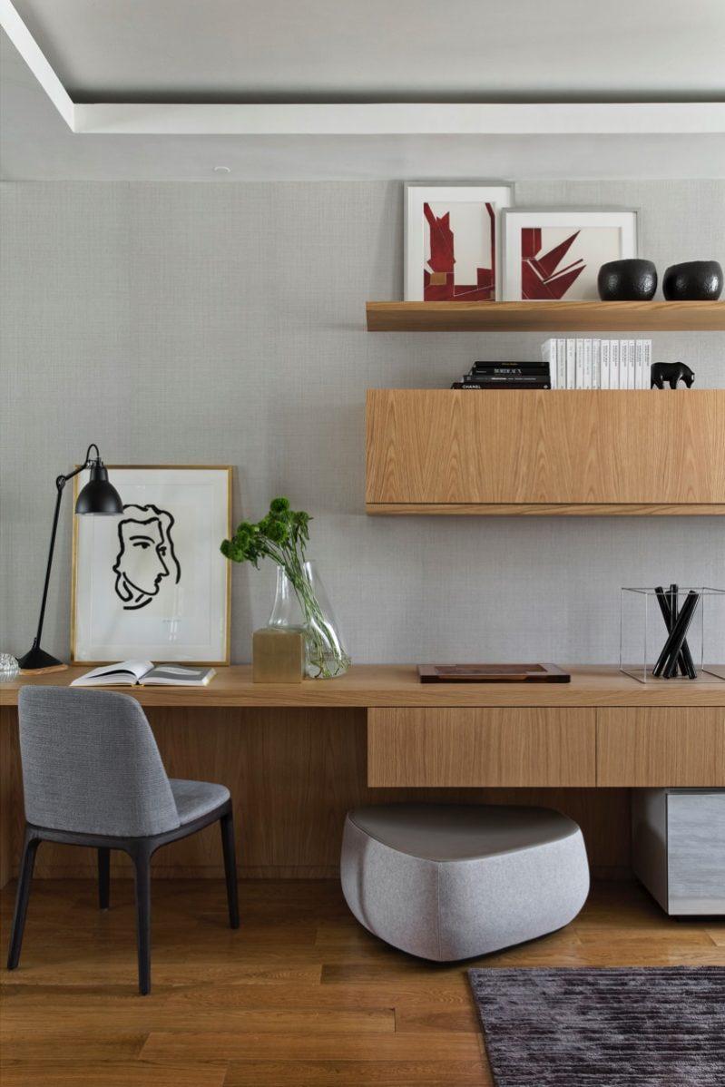 1 N0A1060 DxO min e1488654320684 - Paris Apartment by Diego Revollo Architect
